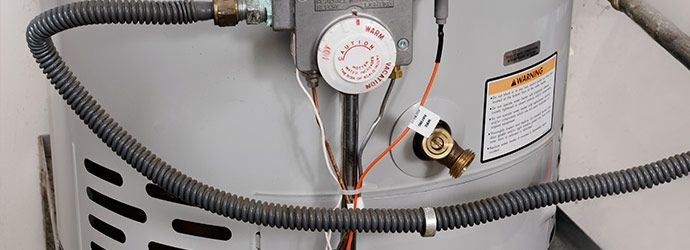 water heater line and gauges